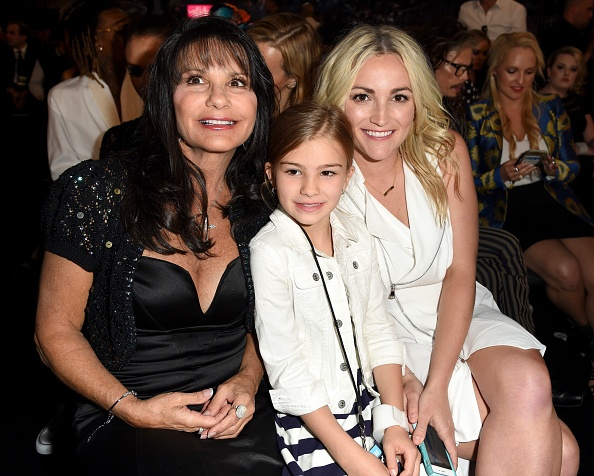Britney Spears' family - mother and sister Jamie-Lynn Spears