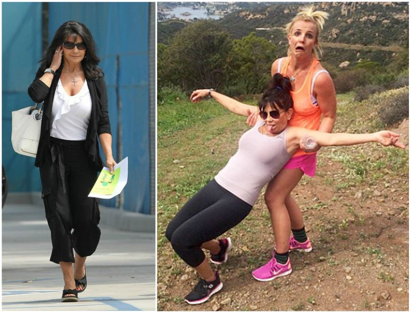 Britney Spears' family - mother Lynne Spears