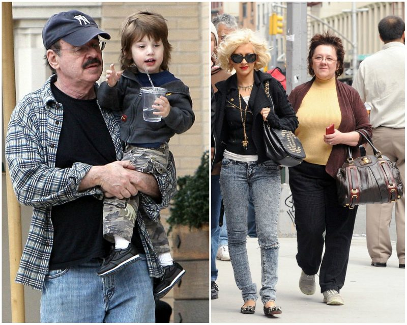 Christina Aguilera's father Fausto Aguilera and mother Shelly