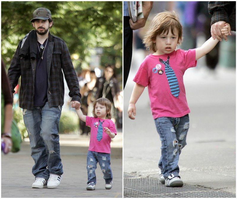 Christina Aguilera's kid - Max Liron Bratman