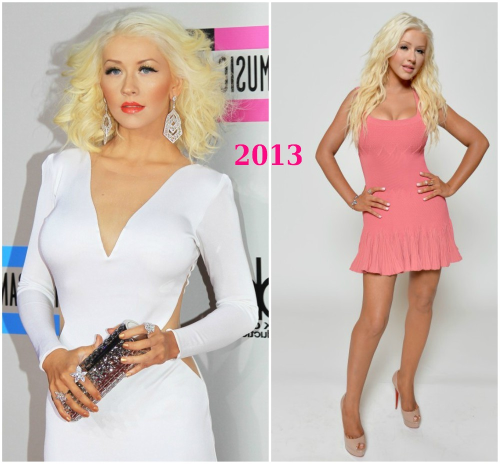 christina aguilera weight loss in 2013