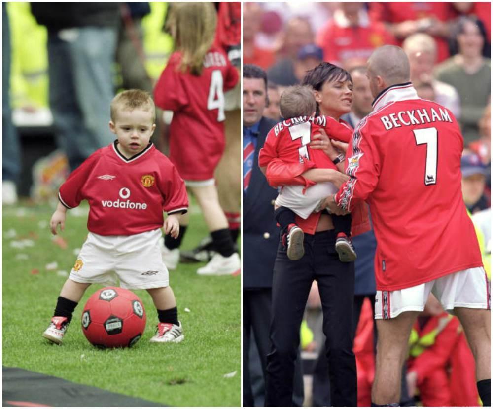 David and Victoria Beckham`s kids