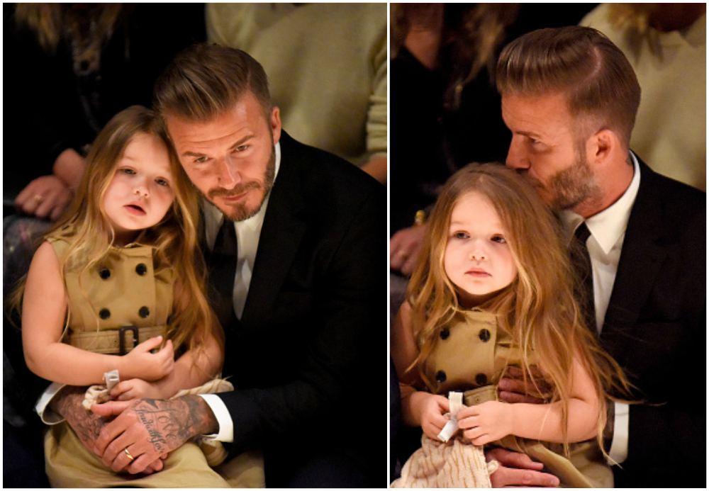 David and Victoria Beckham`s children - Harper