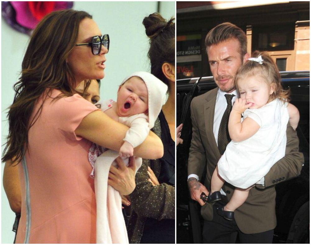 David and Victoria Beckham`s kid Harper