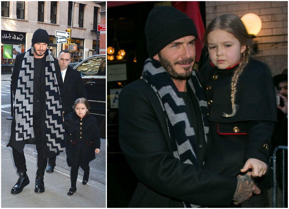 David and Victoria Beckham`s kid Harper Beckham
