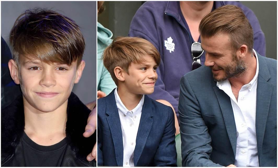 David and Victoria Beckham`s kid - Romeo