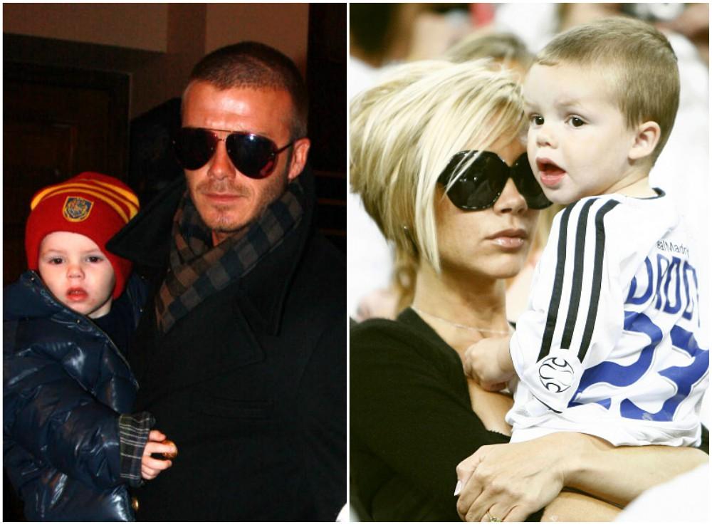 David and Victoria Beckham`s kid Cruz Beckham
