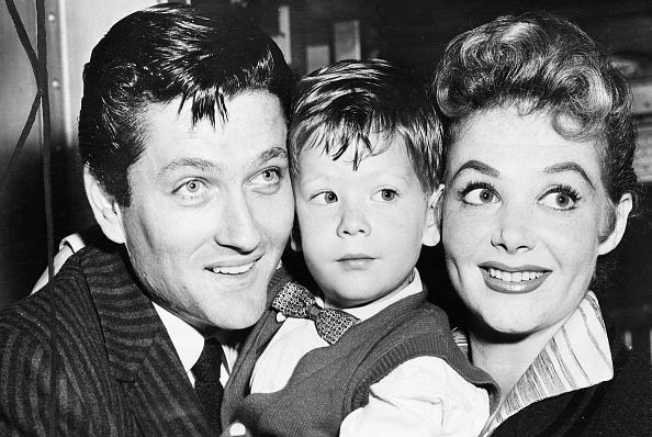 Drew Barrymore's half-brother John Blyth Barrymore (in the middle)