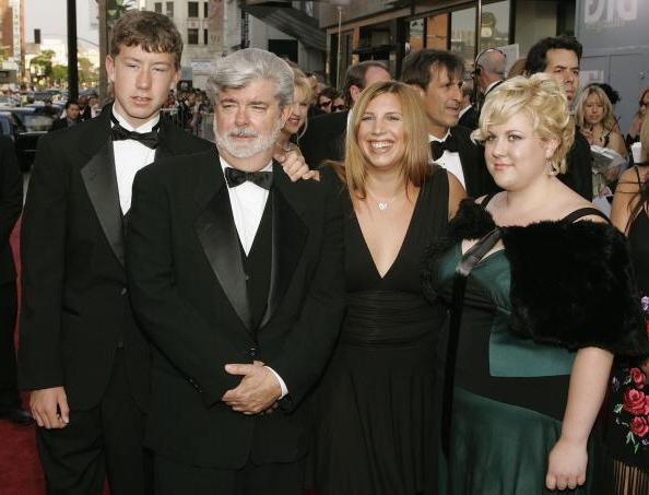 George Lucas' kids - daughters and son