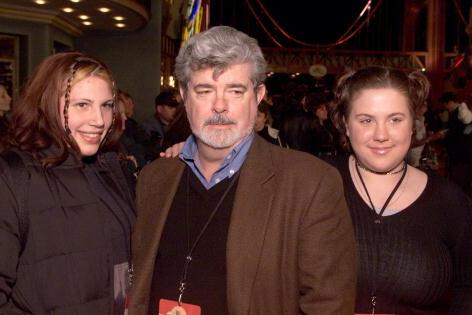 George Lucas' kids - daughters Amanda and Katie