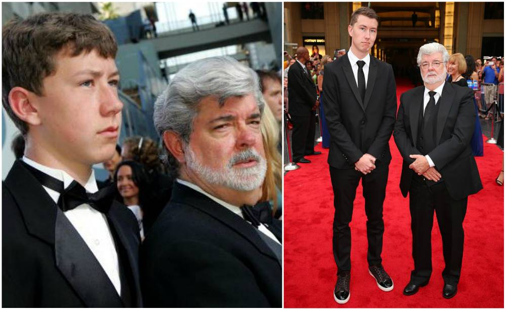 George Lucas' kid - son Jett Lucas