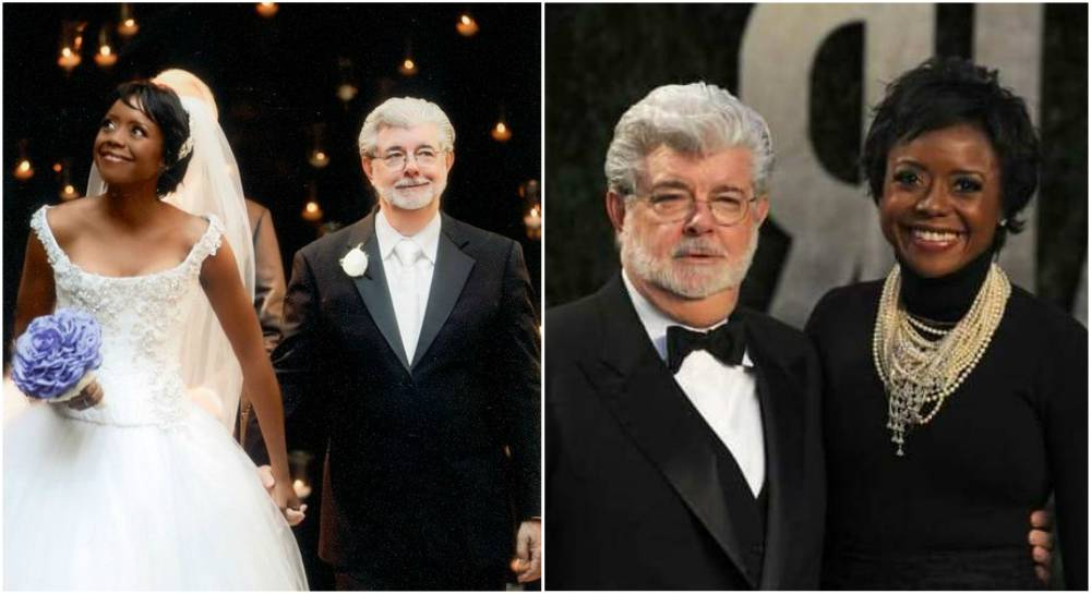 George Lucas' wife Mellody Hobson