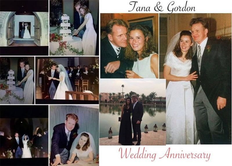 Gordon Ramsay and wife Tana wedding anniversary