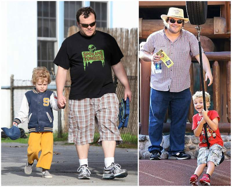 Actor Jack Black`s children - son Sammy Black
