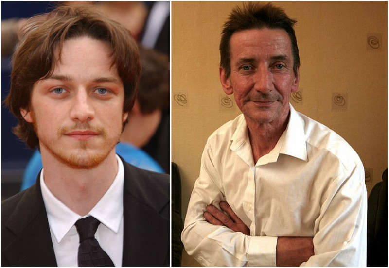 James McAvoy's family - father James McAvoy, Sr