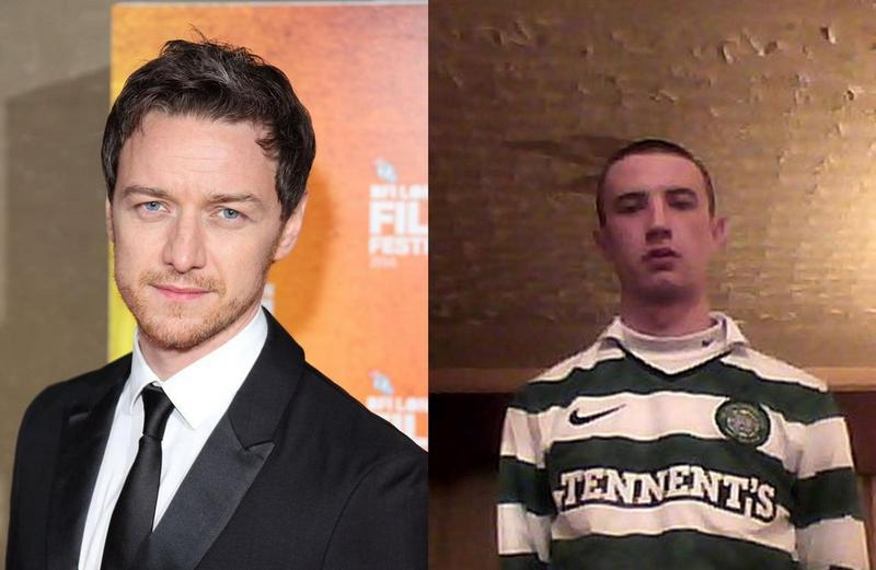 James McAvoy`s family - half-brother Donald McAvoy
