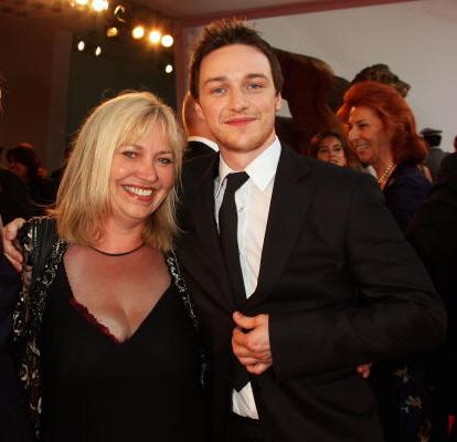 James McAvoy's family - mother Elizabeth McAvoy