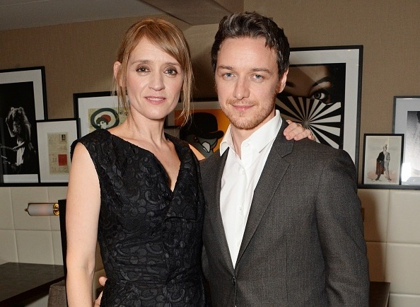James McAvoy's family - wife Anne-Marie Duff