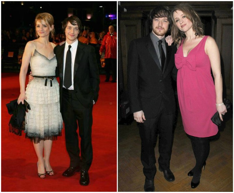 James McAvoy's family - ex-wife Anne-Marie Duff