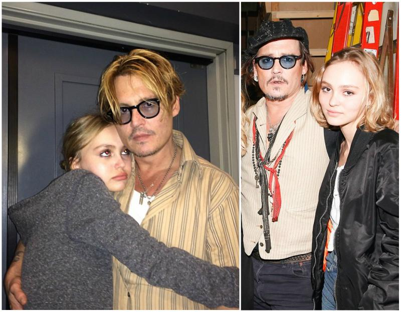 Johnny Depp's Celebrity Children: a daughter and a son