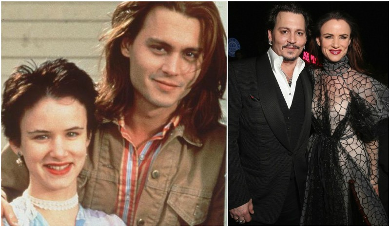 Johnny Depp's lovers - Juliette Lewis