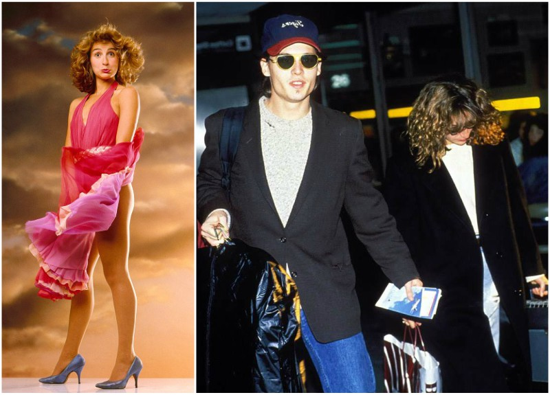 Johnny Depp's lovers -Jennifer Grey