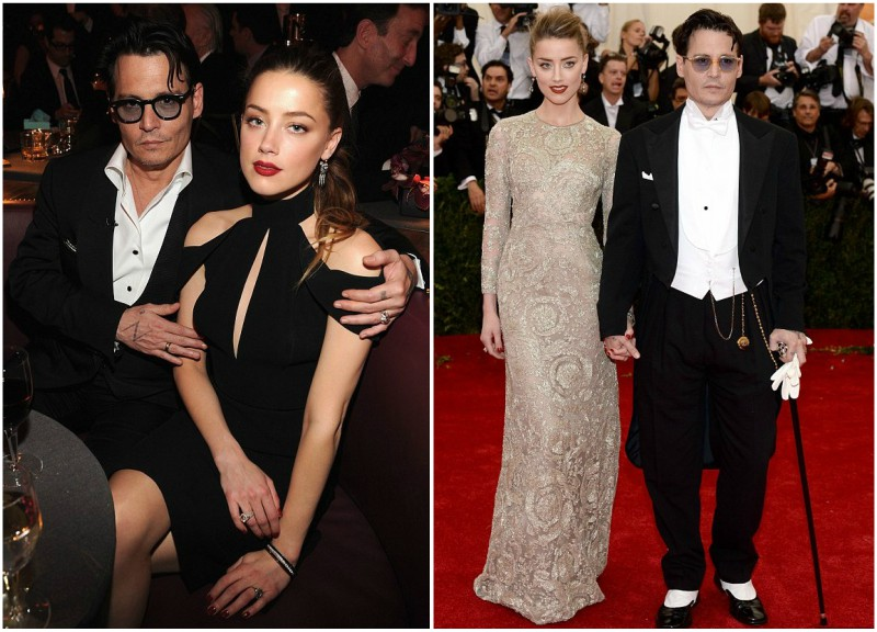 Johnny Depp's lovers - ex-wife Amber Heard