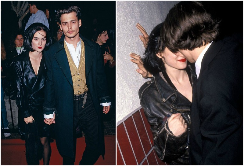 Johnny Depp's lovers - Winona Ryder