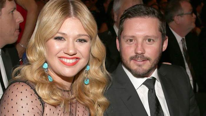 Kelly Clarkson`s family - husband Brandon Blackstock