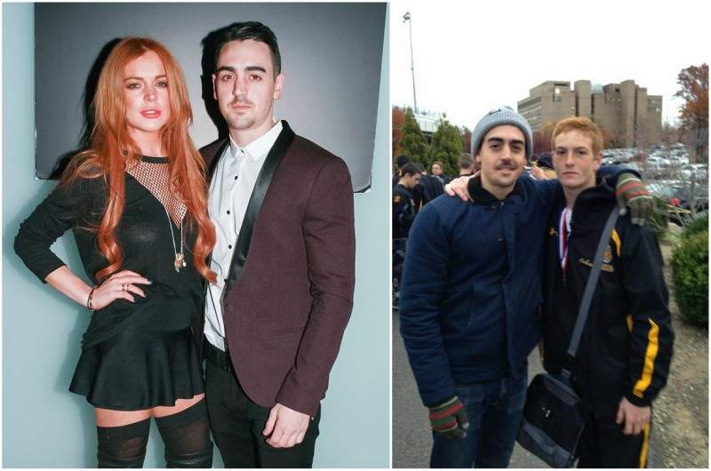 Lindsay Lohan`s family - brother Michael Lohan Junior