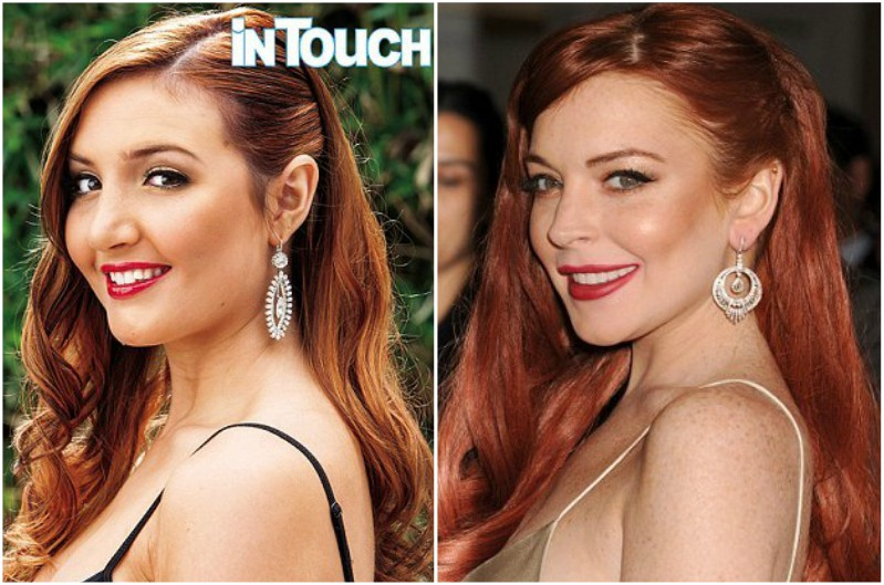 Lindsay Lohan`s siblings - half-sister Ashley Horn