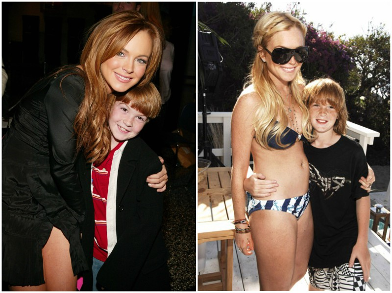 Lindsay Lohan`s family - brother Cody Lohan