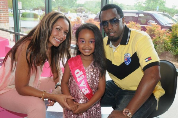 Puff Daddy (P. Diddy, Sean Combs) children - daughter Chance Combs