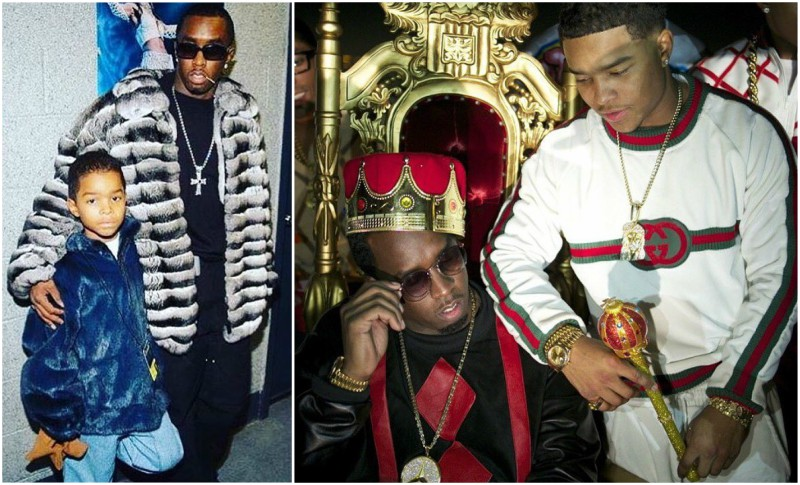 Puff Daddy (P. Diddy, Sean Combs) children - son Justin Dior Combs
