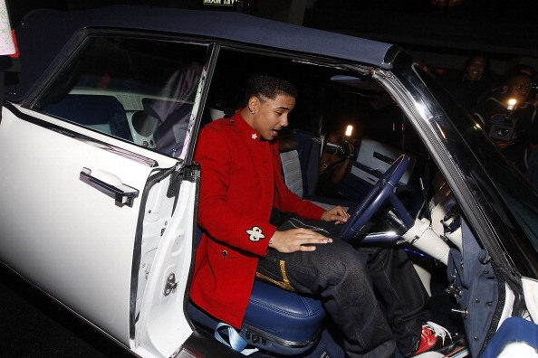 Puff Daddy (P. Diddy, Sean Combs) step-son Quincy Brown 16th birthday gift