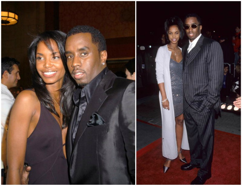 Puff Daddy (P. Diddy, Sean Combs) ex-girlfriend Kim Porter