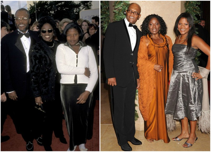 Samuel L Jackson`s family - wife LaTanya and daughter Zoe
