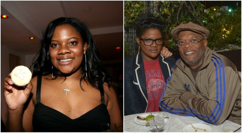 Samuel L Jackson`s children - daughter Zoe Jackson