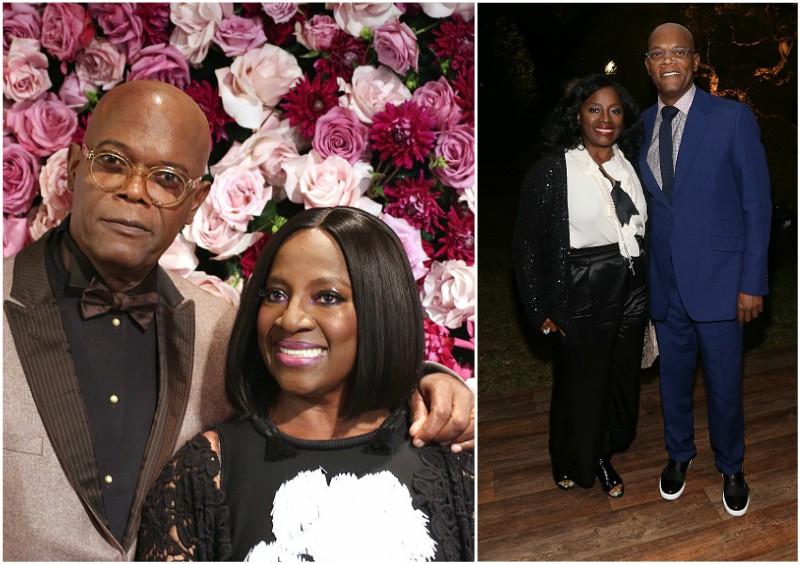 Samuel L Jackson`s spouse - LaTanya Richardson