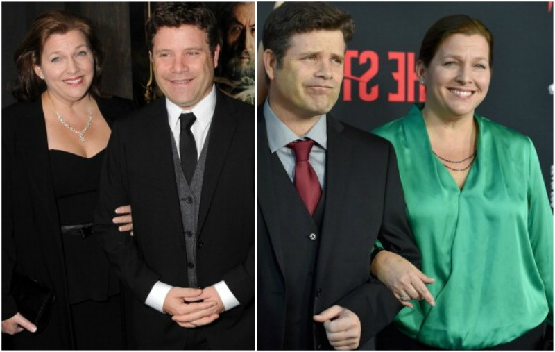 Sean Astin's family - spouse Christine Astin