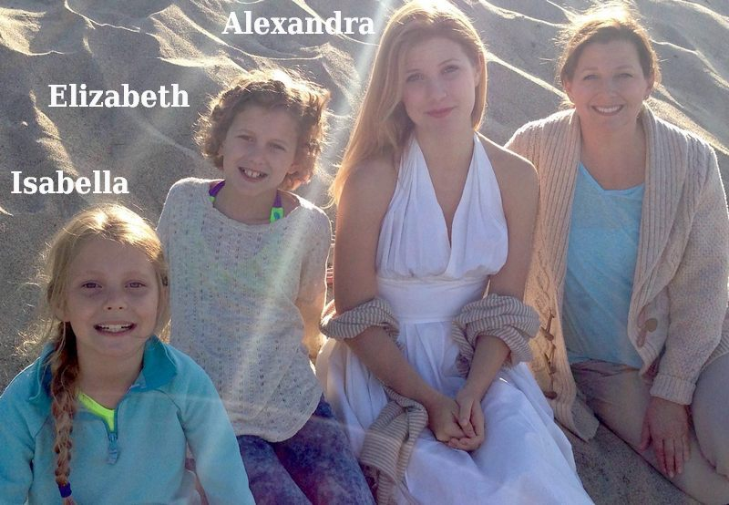 Sean Astin`s family - wife and daughters