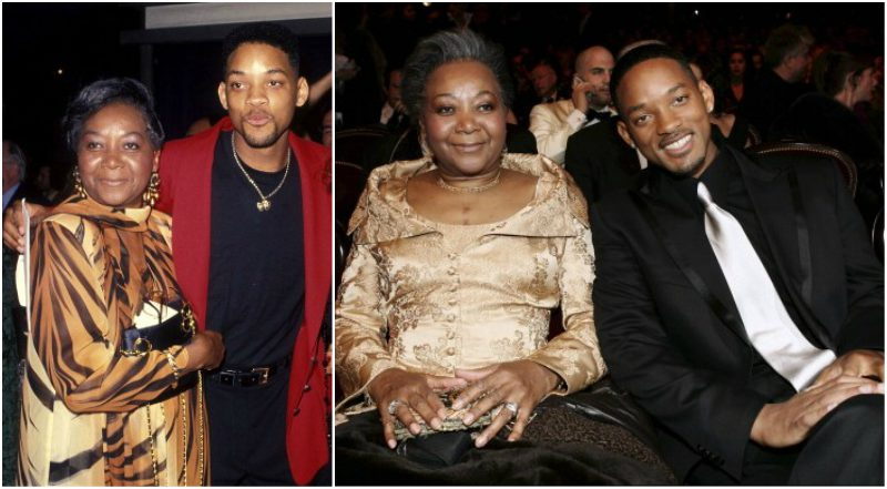 Will Smith parents - mother Caroline Bright