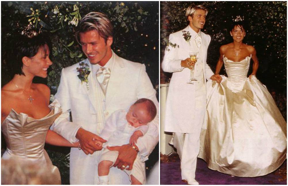 david victoria beckham wedding cake david and beckham s four children cuteness 13357