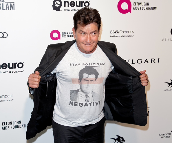 Charlie Sheen positive for HIV