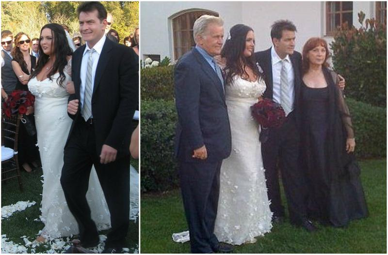 Charlie Sheen`s children - daughter Cassandra Estevez wedding