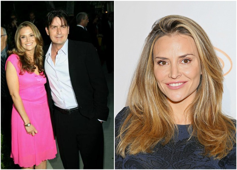 Charlie Sheen`s family - ex-wife Brooke Mueller
