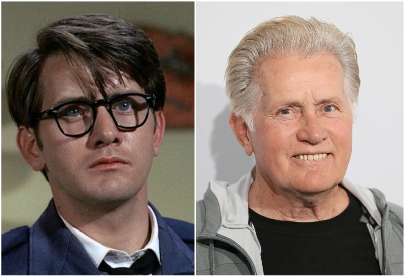 Charlie Sheen`s family - father Martin Sheen
