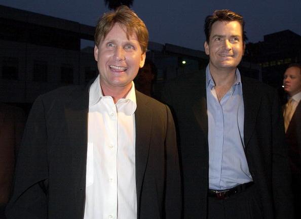 Charlie Sheen`s siblings - brother Emilio Estevez