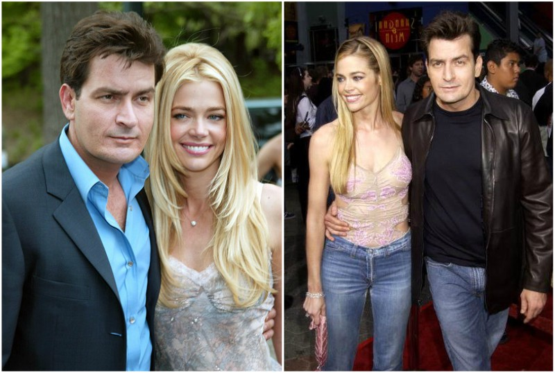 Charlie Sheen`s family - ex-wife Denise Richards