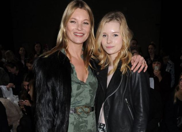 "Kate Moss siblings - half-sister Charlotte ""Lottie"" Moss"